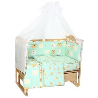 Комплект пастельного белья для малыша