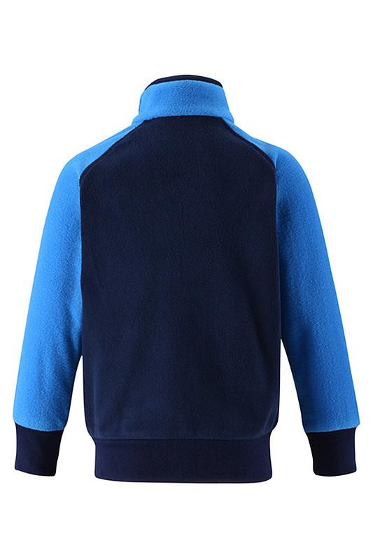 Флисовые куртки хорошо сохраняют внутреннее тепло для малышей